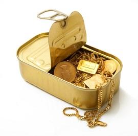 oro in scatola